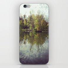 Mirror Duck Pond  iPhone Skin