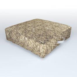 d20 Forbidden Scroll Critical Hit Pattern Outdoor Floor Cushion