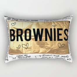 brownie recipe Rectangular Pillow