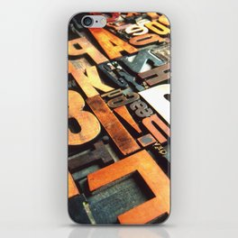 3B - Typography Photography™ iPhone Skin