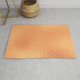 Simply Metallic in Copper Rug