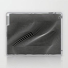Minimal curves black Laptop & iPad Skin