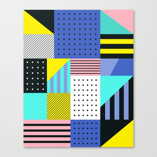 Patchwork Two Canvas Print