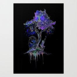 Tree of Gem  Art Print