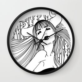 Misty Mornings Wall Clock