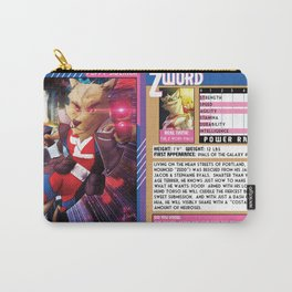 BCX TRADING CARD NO 3 BOTH FACES Carry-All Pouch