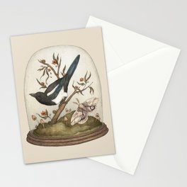 One for Sorrow Stationery Cards