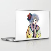 cara Laptop & iPad Skins featuring Cara by Jessis Kunstpunkt.