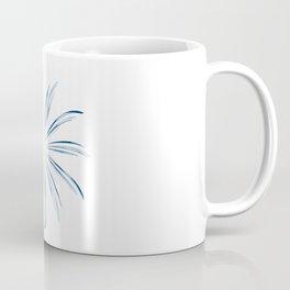 Steel Blue Star Coffee Mug