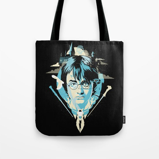 The Boy Who Lived Tote Bag