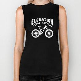 Elevation Inspiration MTB Mountain Bike Cyclist Biker Tank