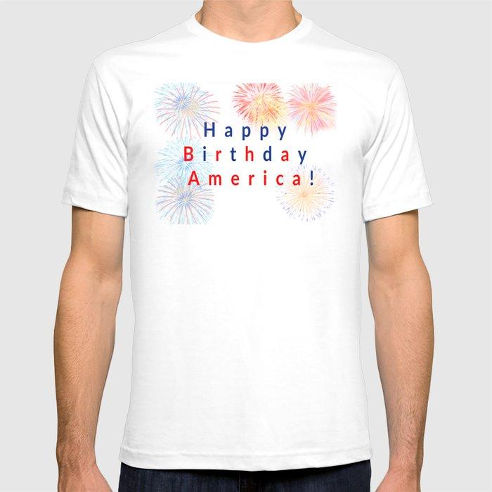 Happy Birthday America T-shirt
