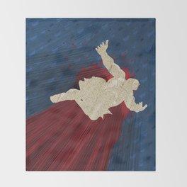 When Hondas Fly (Homage To Street Fighter's E. Honda) Throw Blanket