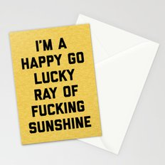 Ray Of Sunshine Funny Quote Stationery Cards