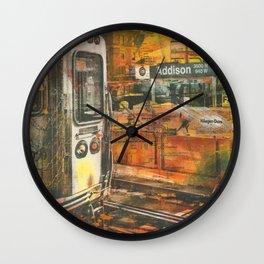Addison Stop Wall Clock
