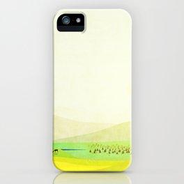 Minimal Meadow Redux iPhone Case