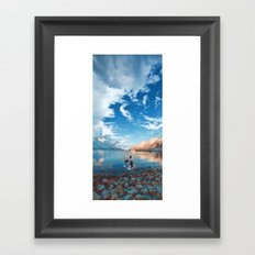 These young dreams are all we breathe Framed Art Print