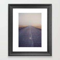 Nowhere Road Framed Art Print