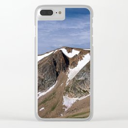 Beartooth Pass Clear iPhone Case