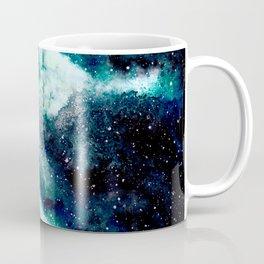 Dreamy Cloud Galaxy, Blue Coffee Mug
