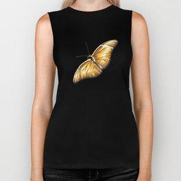 Papillon jaune Biker Tank