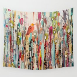 letting go Wall Tapestry