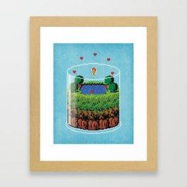 Hyrule Terrarium Framed Art Print