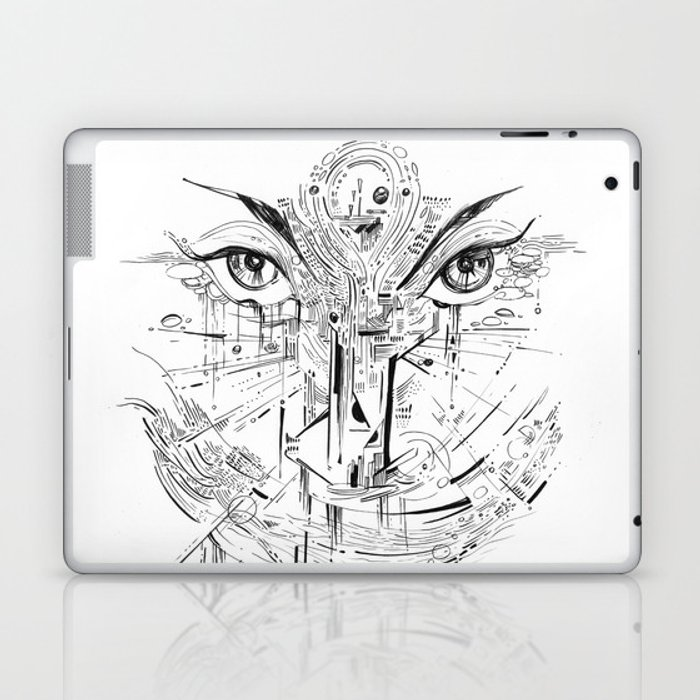 Headlights Laptop & iPad Skin