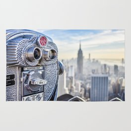 New York City Skyline and Views Rug