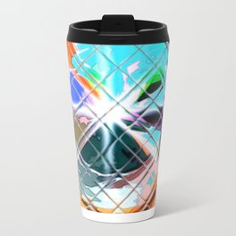 Harlekin abstrakt. Metal Travel Mug