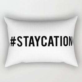 #staycation Rectangular Pillow