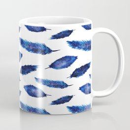 Starry feathers || watercolor Coffee Mug