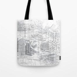 5th & Stark: Architecture & Gentrification Tote Bag