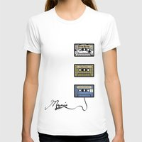 tape T-shirts featuring tape by Jeffrey Bourgeois