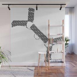 BQ - Bulldog Harness Wall Mural