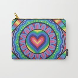 True Love Mandala Carry-All Pouch