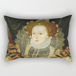 Portrait of Elizabeth I Rectangular Pillow