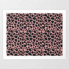 sexy leopard Art Print