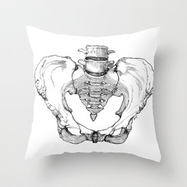 Pelvic Bone Throw Pillow