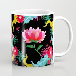 Lotus flower pattern artwork Coffee Mug