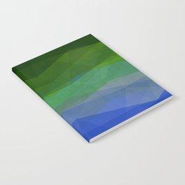 Rainbow Ocean Triangles Notebook