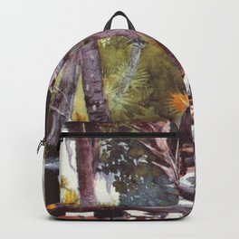 In The Jungle Florida 1904 By WinslowHomer | Reproduction Backpack