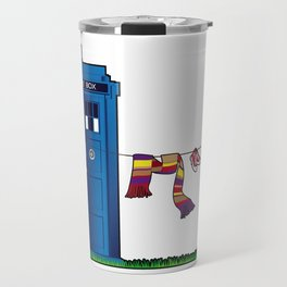 Doctor Who: tardis wardrobe  Travel Mug