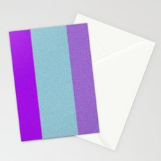 Re-Created Interference ONE No. 23 by Robert S. Lee Stationery Cards