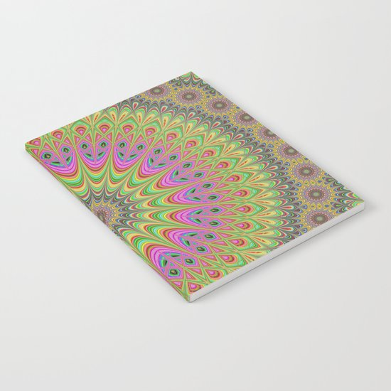Floral ornament mandala  Notebook