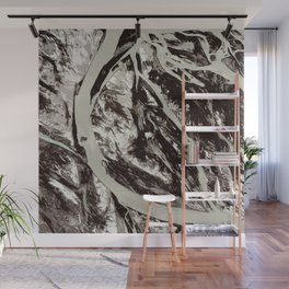 Abstract - Go with the flow Wall Mural