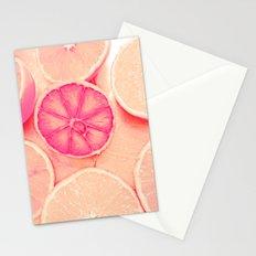 Soft Orange Love Peace Stationery Cards