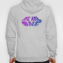 We Are One, violet Hoody