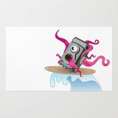 Monster Camera Surfing Rug