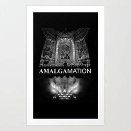 Amalgamation #4 Art Print
